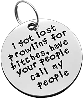 Custom Funny ID Tag Funny Pet Tag Personalized ID Tag Funny Laser Engraved Customizable Dog Tag Treat Whore