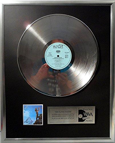 Depeche Mode Construction Time Again platin Schallplatte (goldene Schallplatte)