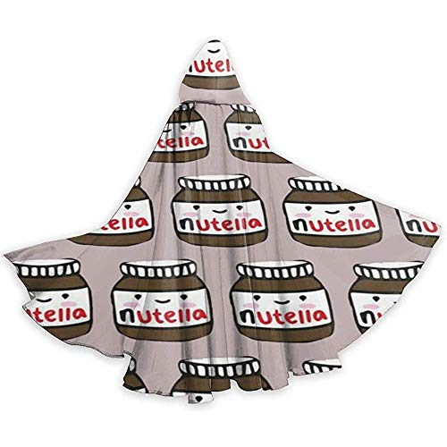 Delicious Nutella Adult Tunika Hooded Knight Halloween Mantel Robe Kostüm Weihnachten, 59Inch (150,40Cm)