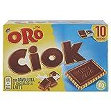 Saiwa Oro Ciok Tavoletta di Cioccolato al Latte, 10 x 25g
