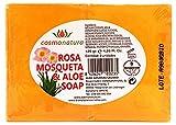 Bionatural Jabón de Rosa Mosqueta y Aloe Vera - 125 gr