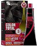 Azalea Total Tinte Capilar Permanente, Color Castaño Claro - 224 gr