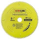 Saxton TCT16080TPRO Lame de scie circulaire de la gamme professionnelle TCT. 160mm 80 les dents, alésage de 20mm, anneau de 16mm Compatible avec Makita Dewalt Bosch Festool TS55