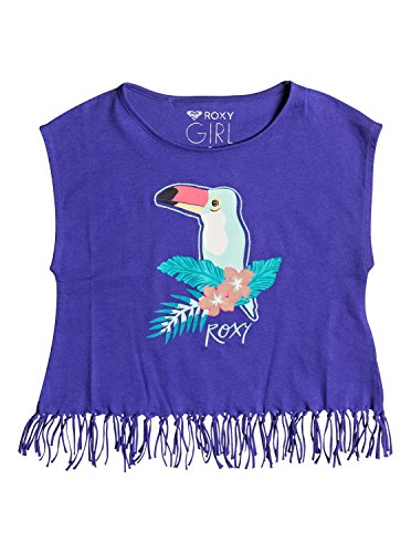 Roxy Whispers Under The Rain - Fringe Top - Fransen-Top - Mädchen - 7 - Blau