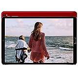 GOODTEL Tablet 10 Pulgadas Android 10 Pro con Procesador Octa-Core Núcleos 1.6GHz 4GB RAM + 64GB ROM Batería 8000mAh | Cámara Dual 5MP + 8 MP | WiFi | Bluetooth | MicroSD, Rojo