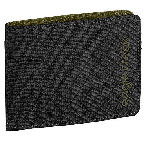 Eagle Creek RFID Bi-Fold Wallet, Jet Black, One Size