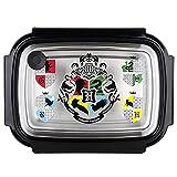 POS 33444 – Fiambrera con diseño de Harry Potter (Aprox. 19,5 x 14,2 x 7,2 cm, Acero Inoxidable y plástico, sin BPA ni ftalatos, Ideal para el Desayuno, guardería y Escuela)