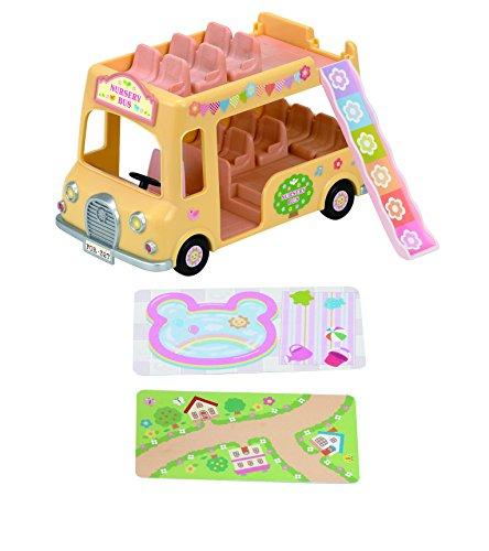Sylvanian Families–Autobus, Presepe e Ecole
