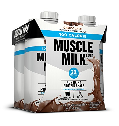 Cytosport Muscle Milk 100 Calories Nutritional Drink, Chocolate, 4 Count