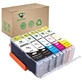 Supricolor PGI-280XL CLI-281XL Ink Cartridges for Bakey, Replament Ink Cartridges 280 XL and 281 Compatible with Pixma TS6120 TS6220 TS8220 TS9520 Printers 5 Pack