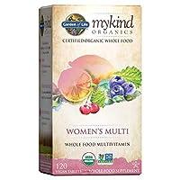 海外直送品Garden of Life Kind Organics Womens Multi, 120 Tabs