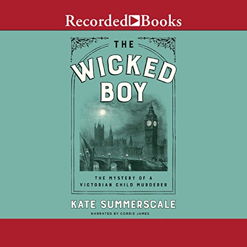 The Wicked Boy audiobook cover art
