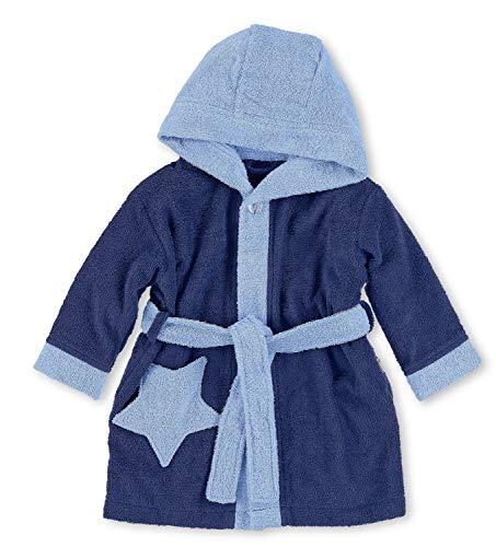 Sterntaler Peignoir à capuche Stanley, Âge : 3-4 Ans, Taille: 98/104, Bleu