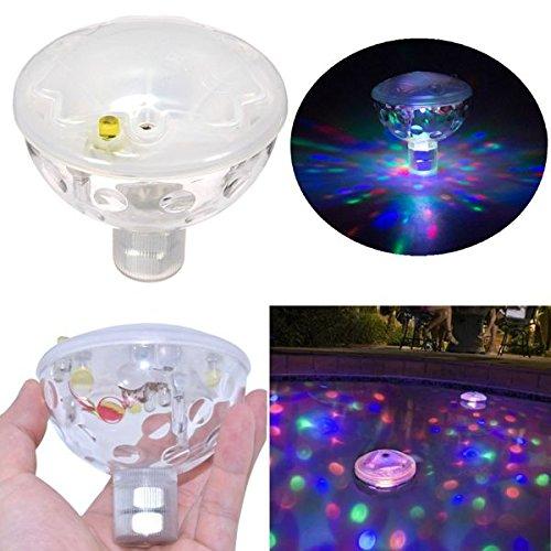 HVTKL HVTKL Drijvende onderwater-LED Disco Licht Show Zwembad Whirlpool Spa Lamp