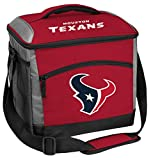 Rawlings NFL Soft-Sided Insulated Cooler Bag, 24-Can Capacity, Houston Texans, 10211093111
