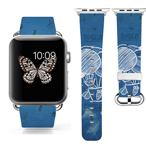3C-LIFE iwatch cute band for Apple Watch Sport 38mm Space Aluminum Case.Best Valentine's Day Gift for Girlfriend/Wife/Lover