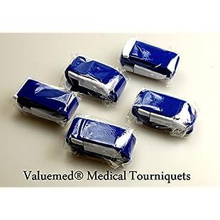 Pack of 5 Quality Valuemed® Medical Tourniquets for NHS A&E Doctors Paramedics & Nurses (5 Royal Blue):Kumagai-yutaka
