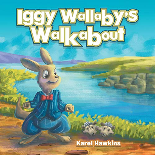 Iggy Wallaby's Walkabout audiobook cover art