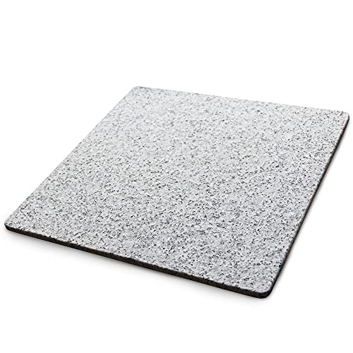 ペットさん大よろこび魔法の天然石ひんやりマット(ベッド)W01J【独自の特殊ノンスリップ加工】40×40×1.3センチほど良い涼しさにペットうっとり暑い夏に洗えるクールなマットで安心の日本製。【耐久性抜群のA級品です】大自然の原石から1枚ずつ丁寧に加工してます。G400-W01J