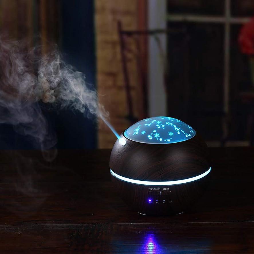 嫌がらせ弱める適用するXuBa 加湿器 アロマディフューザー LEDナイトライト ギフト 装飾 米国の規制