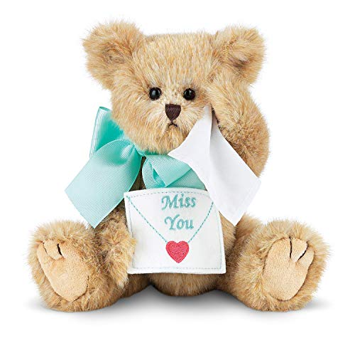 """Bearington Collection Collection Beary Blue Without You Miss You Plush Teddy Bear 10"""""""