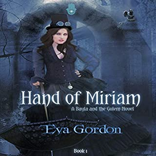 Hand of Miriam audiobook cover art