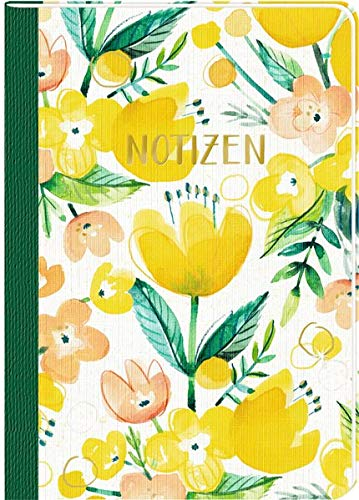 Notizhefte - All about yellow - DIN A5