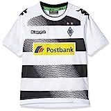 Kappa Borussia Mönchengladbach Camiseta Home 2016/2017Niños Blanco/Negro Talla:164