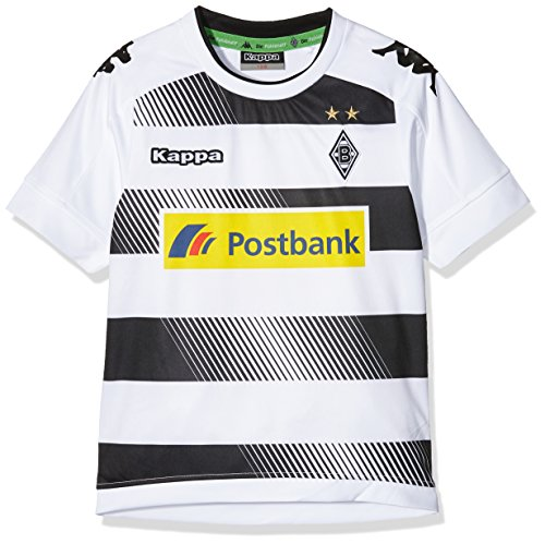 Kappa Kinder Borussia Mönchengladbach Heim-Trikot, 001 White, 128