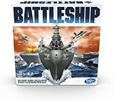 Battleship Electronic - Naval Combat Game - 1 to 2 Player - Family Board Games and toys for kids - Ages 8+