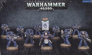 "Games Workshop 99120101216"" Warhammer 40K Space Marine Tactical Squad Game"