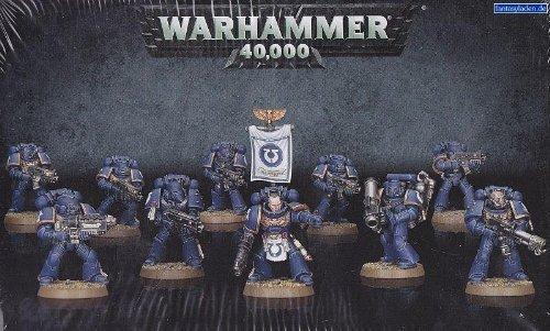 GAMES WORKSHOP 9900000000 in Warhammer 40K Space Marine Tactical Squad Game