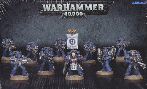 "Games Workshop 99120101216"" Warhammer 40K Space Marine Tactical Squad Game"