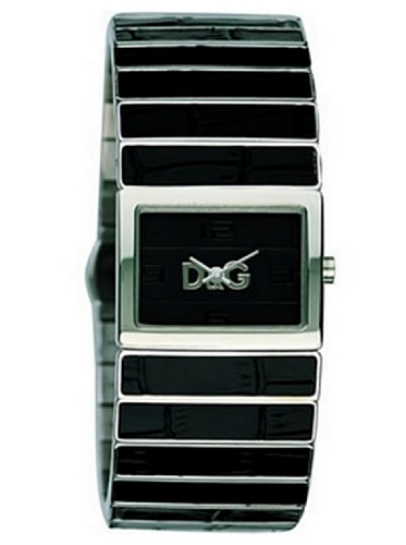 D&G DW0080 - Reloj de Señora Movimiento de Cuarzo con Brazalete metálico