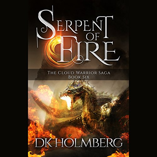 Serpent of Fire audiobook cover art
