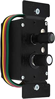 Premium 3-Way Push Button Universal Dimmer Switch with True Mother-of-Pearl Buttons 600W