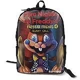 Freddie'S Five Nights At Freddy'S (59) Mochila para la escuela universitaria Estudiante Bookbag Negocios Portátil Viaje...