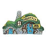 Gift Craft Mini World Hilltop Bed and Breakfast Building Fairy Garden Figurine 700346 New