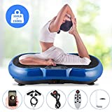 EVOLAND 3D Motor Vibration Power Plate, Fitness Vibrating Machine with 180 Levels, 5 Programs, 4.2 Bluetooth Speaker Unisex Vibration Trainer For Weight Loss & Body Toning