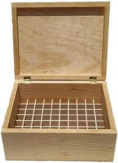 Artesanías Ramírez - Caja de madera 63 divisiones