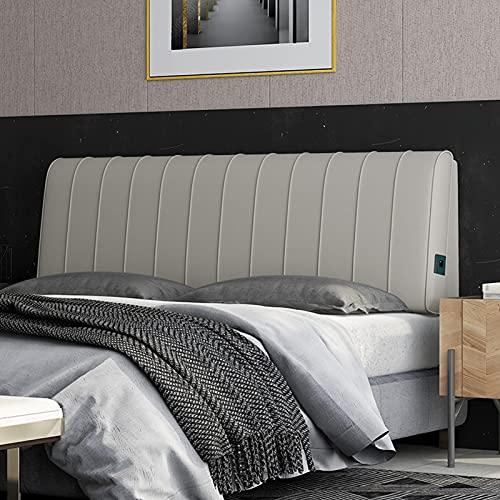 Cubierta de terciopelo protector a prueba de polvo para cabecera tapizada, almohada de lectura gran almohadilla de colocación de colocación de cabecera soporte de soporte de cuña, tamaño personalizabl