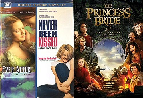 First Love 3-Movie Bundle - The Princess Bride (30th Anniversary) Ever After: A Cinderella Story & Never Been Kissed