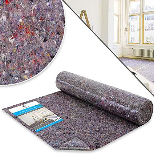 KESSER® Premium Malervlies Tapete 1 m x 50 m = 50 m² Abdeckvlies Gewicht 180 g/m², mit PE Anti Rutsch Beschichtung - Vlies Rolle Schutzvlies Oberflächenschutz für Maler und Heimwerker