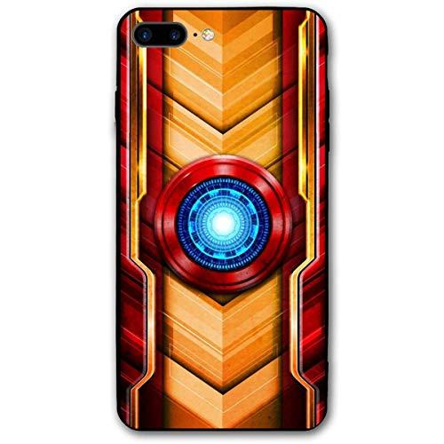 Funda para iPhone 7 Plus Funda 8 Plus 5.5', Funda de plástico para cómics para iPhone 7Plus / 8Plus (Iron-Man)