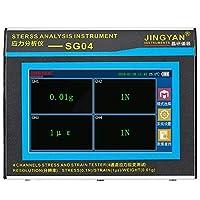 診断、テスト&測定ツール SG04 ストレスアナライザー 4チャンネル 分析により機器を実現 4GBメモリ SDカード 4000MAH バッテリー容量 大人用