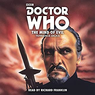 Doctor Who: The Mind of Evil audiobook cover art