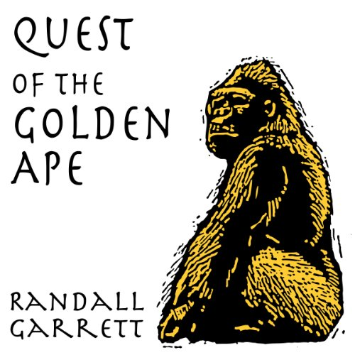 Quest of the Golden Ape audiobook cover art