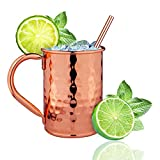 Moscow Mule Copper Mugs-100%...