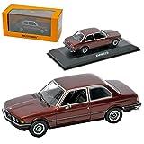 B-M-W 3er E21 323i Coupe Rot Metallic 1975-1983 1/43 Minichamps Maxichamps Modell Auto