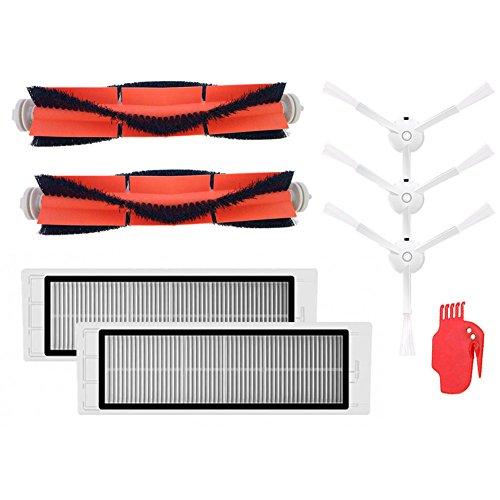 Kit d'accessoires pour robot XIAOMI MI Roborock S5 S6 S50 E25 E20 E35 Pièces détachées pour aspirateur robot